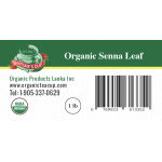 Senna Leaf Whole Organic