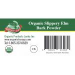 Slippery Elm Bark POWDER-Organic