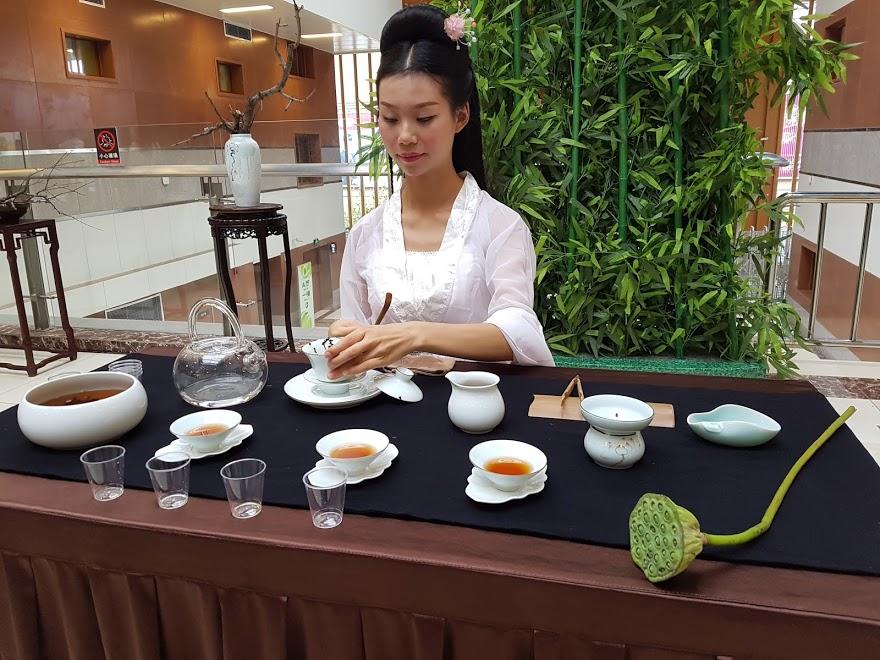 Blog-02: Tea Steeping Ceremony at Emei Tea Expo July 2017